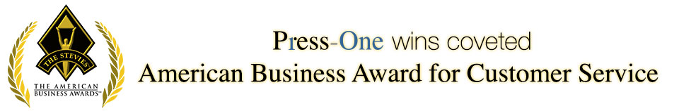 Press-One wins coveted American Business Award for Customer Service
